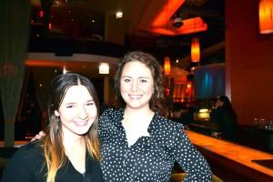My sis (Natalie) and I at Samba Sushi in Chicago.