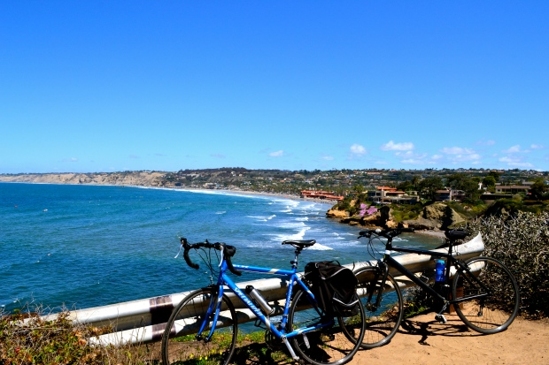 Biked all the way from La Jolla to Ocean Beach on the coast
